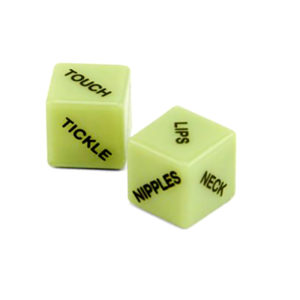Glow in The Dark Couples Dice