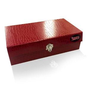 Premium Designer Discreet Red Adult Toy Box